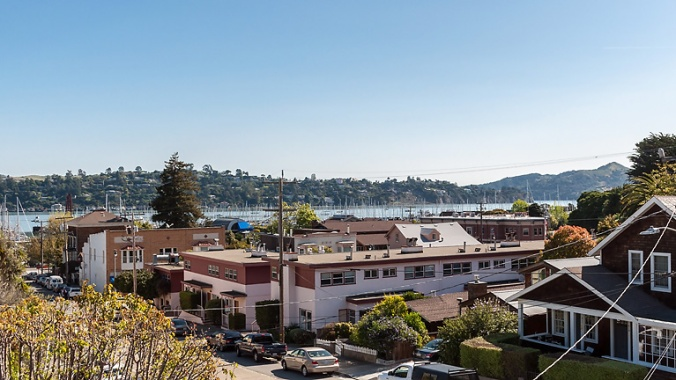 424 Pine Street, Sausalito, CA, 94965-bedroom view